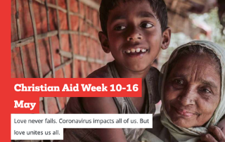 Christian Aid Week: 10-16 May