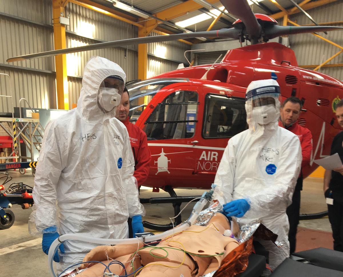 Air Ambulance NI Anniversary & sustaining the service through Covid-19